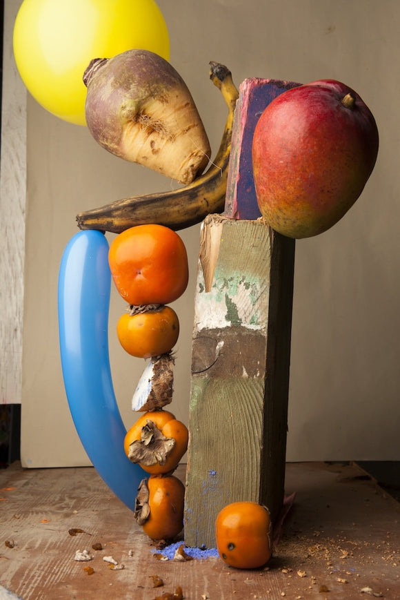 07: Lorenzo Vitturi. Caco Twisted Balloon and Falling Mango, 2013