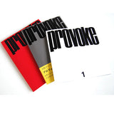 Provoke Complete Reprint of 3 Volumes (Pre-Order for late November)