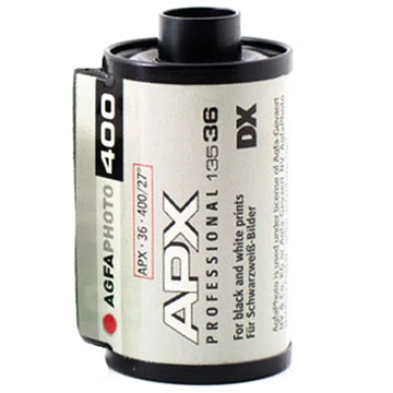 AGFA APX 400 35mm Film 36 Exposures (£5.50 incl VAT)