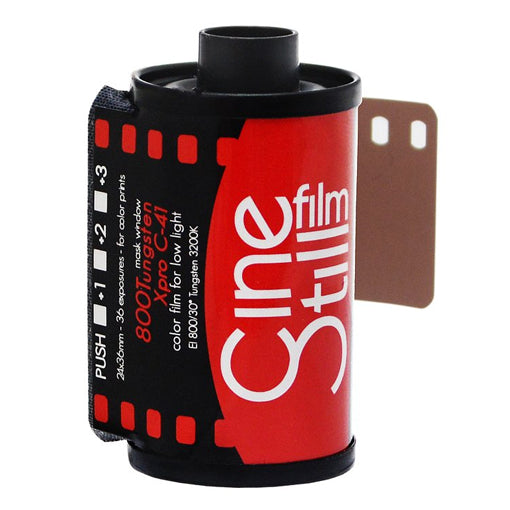 Cinestill 800 Tungsten 35mm Film 36 Exposures (£12.50 incl VAT)