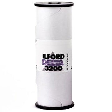Ilford Delta 3200 120 Film (£6.50 incl VAT)