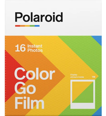Polaroid Go Color Instant Film Twin Pack (£18.99 incl VAT)