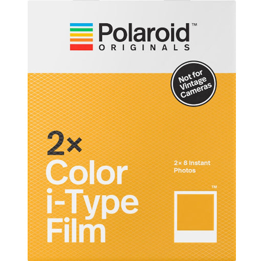 Polaroid Originals Color I-Type Double Pack Instant Film (£27.99 incl VAT)