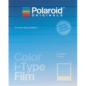 Polaroid Originals Color I-Type Summer Blues Instant Film (£15.99 incl VAT)