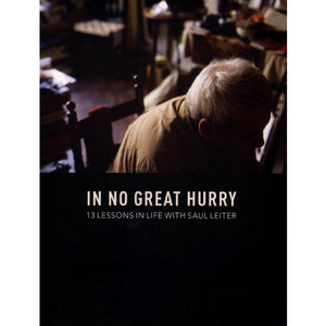In No Great Hurry 13 Lessons in Life with Saul Leiter DVD