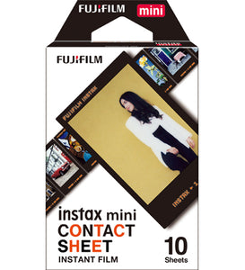 Fujifilm Instax Mini Contact Sheet Instant Film (£8.99 incl VAT)