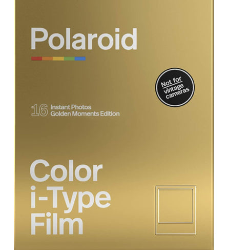 Polaroid Color I-Type Golden Moments Double Pack Instant Film (£29.99 incl VAT)