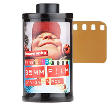 Lomography Color Negative 100 35mm Film 36 Exposures, 3 Pack (£22.90 Incl VAT)
