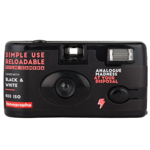 Lomography Simple Use Reusable Film Camera Black & White (£16.90 incl VAT)
