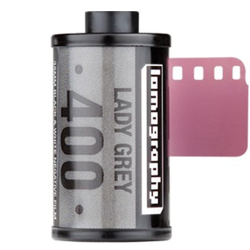 Lomography Lady Grey 400 35mm Film 36 Exposures, 3 Pack (£16.90 Incl VAT)