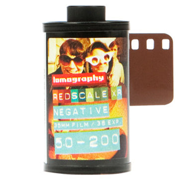 Lomography Redscale XR 50-200 35mm Film 36 Exposures, 3 Pack (£26.90 Incl VAT)