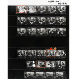 David Hurn: Magnum Contact Sheet