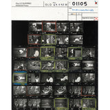 Guy Le Querrec: Magnum Contact Sheet