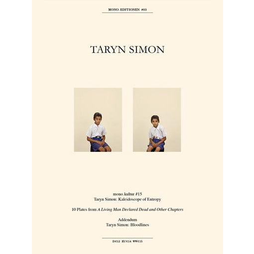 Taryn Simon: mono.editionen #03 (Signed)