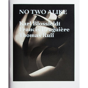 Karl Blossfeldt, Francis Bruguière, Thomas Ruff: No Two Alike