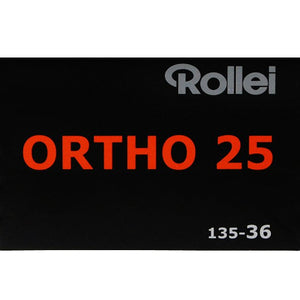 Rollei Ortho 25 35mm Film 36 Exposures (£7.00 incl VAT)
