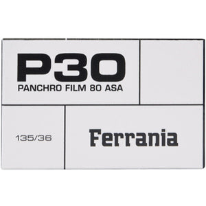 Ferrania P30® 35mm Film 36 Exposures (£9.99 incl VAT)