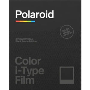 Polaroid Color I-Type Black Frame Edition Instant Film (£15.99 incl VAT)