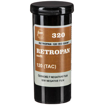 Fomapan Retropan 320 Soft 120 Film (£6.00 incl VAT)