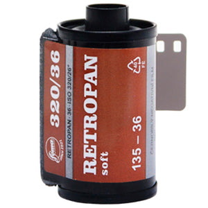 Fomapan Retropan 320 Soft 35mm Film 36 Exposures (£5.50 incl VAT)