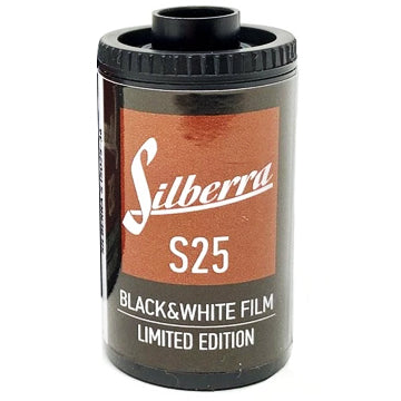 Silberra S25 35mm Film 36 Exposures (£7.00 incl VAT)