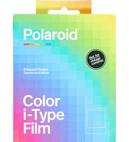 Polaroid Color I-Type Color Spectrum Edition Instant Film (£15.99 incl VAT)