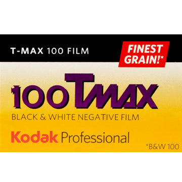 Kodak T-Max 100 35mm Film 36 Exposures (£7.50 incl VAT)