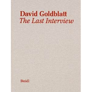 David Goldblatt: The Last Interview