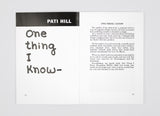 Pati Hill: Letters to Jill - A Catalogue and Some Notes on Copying