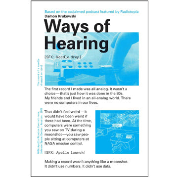 Damon Krukowski: Ways of Hearing