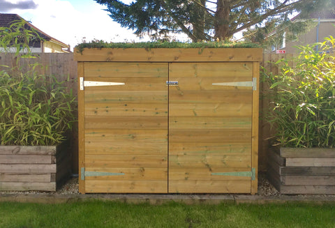 Bluum Custom Cycle Shed