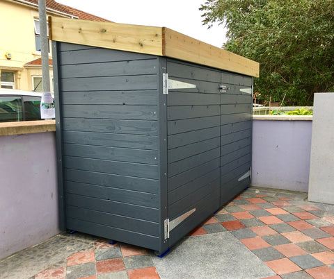 Bluum Bike Shed with Green Roof