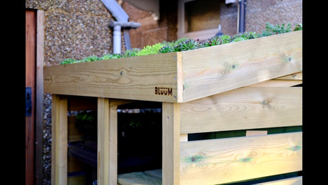 Bluum Recycling and Wheelie Bin Shelter