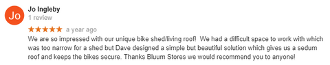 Bluum Green Roof Stores Company Review
