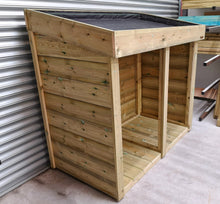 Bluum Stores General Garden Storage Unit with Living Green Roof Planting Area