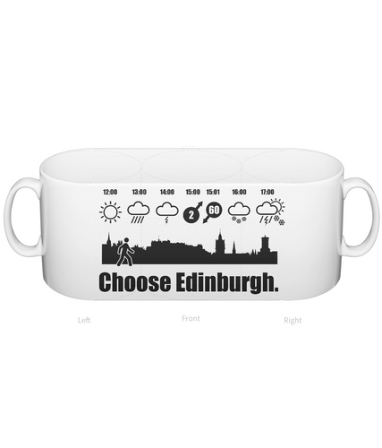 Choose Edinburgh Weather Mug