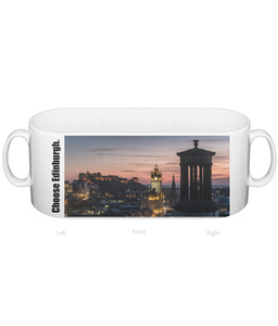 Choose Edinburgh Calton Hill View Mug