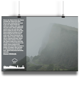 """Choose Edinburgh"" Poster"