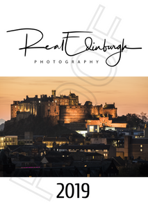 Real Edinburgh 2019 Calendar