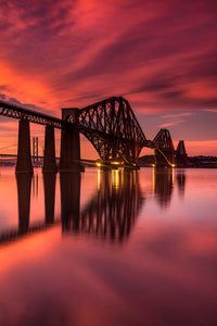 Limited Edition - Forth Bridge Sunset