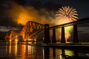 Limited Edition - Forth Bridge Fireworks