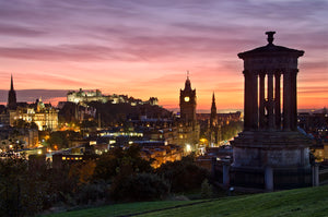 Calton Sunset 9 October 2012