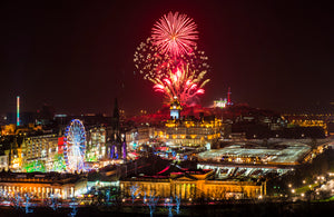 Calton Fireworks in Red