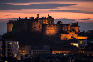 Castle Sunset 4 May 2015
