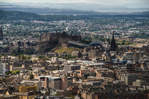 Castle from the top of Arthurs Seat