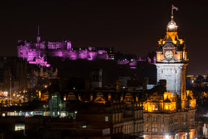 Castle in Pink and Balmoral