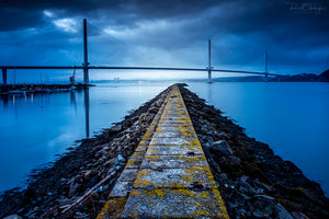 Queensferry Crossing Blue Hour March 2018