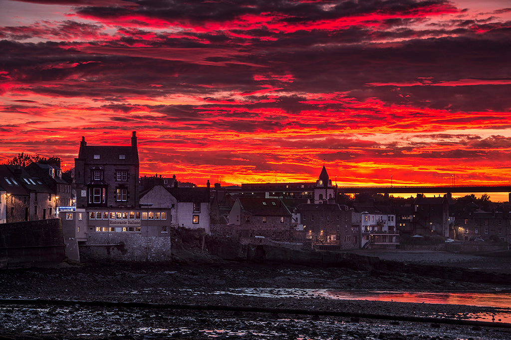 Epic Sky over South Queensferry