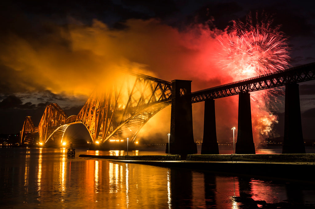 Forth Bridge Fireworks 2