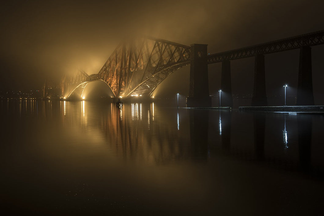 Forth Bridge Fog 4th November 2015